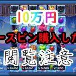 【オンラインカジノ】10万円フリースピン3回購入!高額ベットで夢を追いました【TROPICOOL】