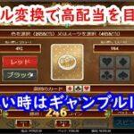 【オンラインカジノ】勝てない時はギャンブル1択!?絵柄変換で勝利をつかめ!【Book Of Dead】