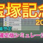 【競馬】宝塚記念2021 枠順確定版シミュレーション【ウイニングポスト9 2021】