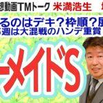 【競馬ブック】マーメイドステークス 2021 予想【TMトーク】