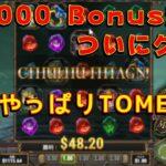 【オンラインカジノ】$9000ボーナス消化クリア!!やっぱTOMEなんだよなぁ