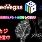 【オンラインカジノ】スロット&テーブルゲーム初見さんも常連さんも大歓迎♪【レオベガス&BONS】6月※11