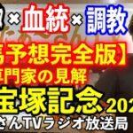 【競馬予想完全版】G1宝塚記念2021