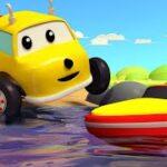教育アニメ 色を学ぼう!ボートレースで遊ぼう! 🚚 ダンプトラックのイーサン 👶 Learn Colors and Numbers for Toddlers