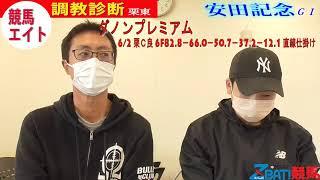 【競馬エイト調教診断】安田記念(高橋賢&稲垣)