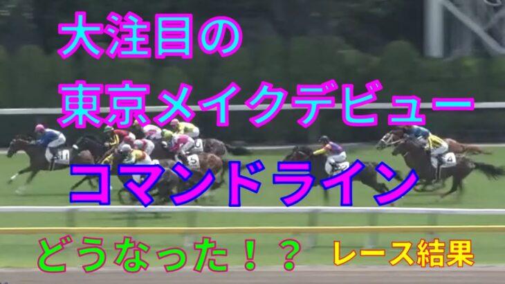 【競馬】大注目の新馬戦!コマンドラインのデビュー戦はどうなった!?