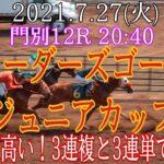 【地方競馬】 ブリーダーズゴールドジュニアカップ 予想 2021 アノ馬から強気に買いたい!