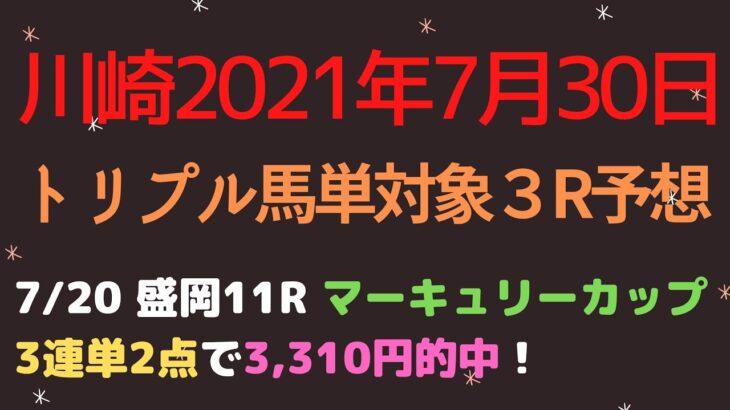 【川崎競馬予想】三浦すいか特別2021予想┃トリプル馬単対象3レースの予想