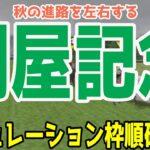 関屋記念2021 枠順確定後シミュレーション 【競馬予想】