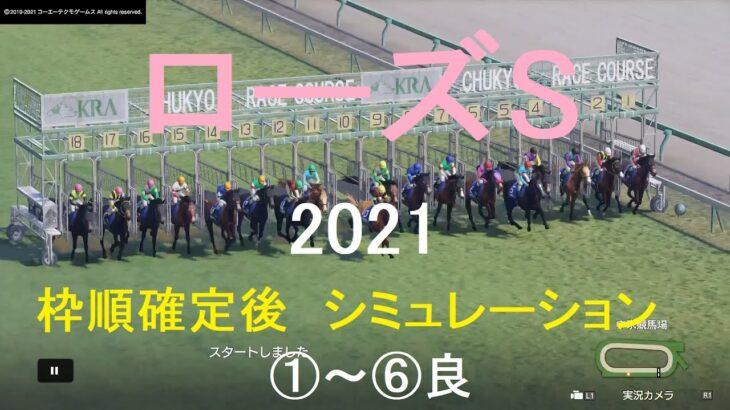 【競馬予想2021】ローズS(GⅡ)中京芝2000mシミュレーション枠順確定後6パターン(①~⑥良)【WP9】20210917