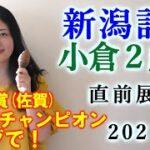 【競馬】新潟記念 小倉2歳S 2021 直前展望(佐賀競馬・サマーチャンピオンはブログで!)ヨーコヨソー