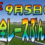 9/5 (日)【中央競馬ライブ配信】JRA全レースぶん回し生配信!今日のメインは、G3新潟記念、小倉2歳S
