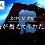 【期間限定公開】名作CM復刻「競馬が教えてくれたこと」  JRA公式