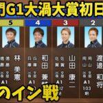 【G1鳴門】西山貴浩が開幕戦1R①号艇で登場!【競艇・ボートレース】