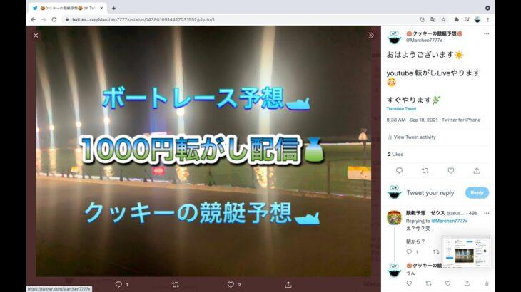 ボートレース 1000円転がし ライブ予想