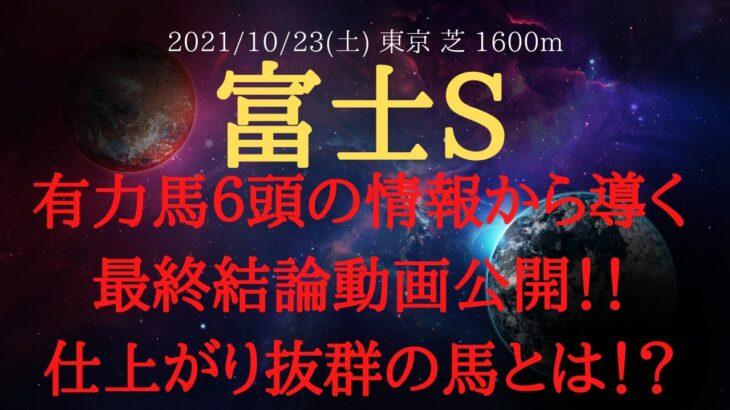 【最終結論】富士ステークス 2021 有力馬6頭の情報から導く最終結論動画公開!【中央競馬重賞予想】
