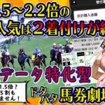 【競馬】データ特化型・馬券劇場「競馬ラウンジ キャンター」第1話